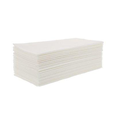 "AmerCareRoyal LN1717-8V1 Airlaid Linen Replacement Dinner Napkins, 1/8 Fold, 17"" x 17"", White - 300 / Case"