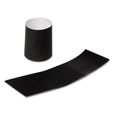 AmerCareRoyal RNB4MBK Napkin Bands, Paper, Black - 4000 / Case