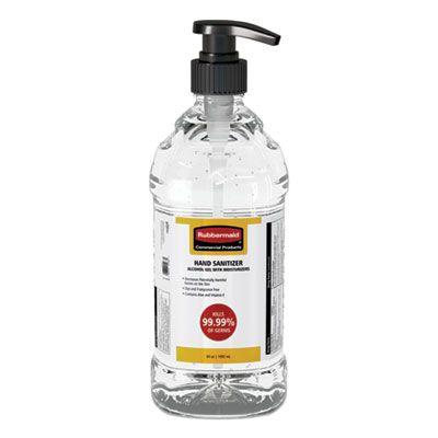 Rubbermaid 2133501 Hand Sanitizer Gel, 64 oz Pump Bottle - 4 / Case