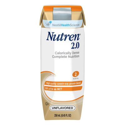 Nestle Health 00798716162302 Nutrel Tube Feeding Formula for Adults, 2.0 Cal / mL, Unflavored, 8.45 oz Carton - 24 / Case