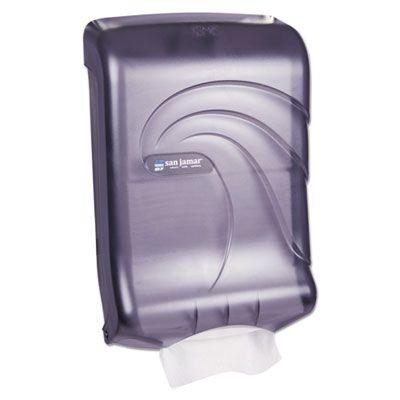 San Jamar T1790TBK Ultrafold Multifold / C-Fold Paper Towel Dispenser - 1 / Case