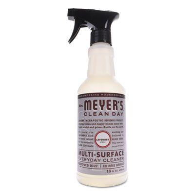SC Johsnon 663011 Mrs. Meyer's All Purpose Cleaner, Lavender Scent, 16 oz Bottle - 6 / Case