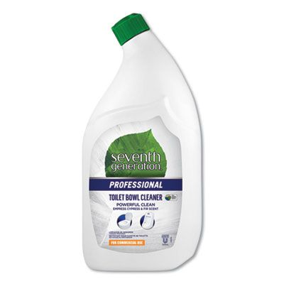 Seventh Generation 44727 Natural Toilet Bowl Cleaner, 32 oz, Emerald Cypress & Fir Scent - 8 / Case