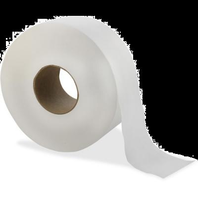 Solaris 23501 Livi Jumbo Roll Toilet Paper, 2 Ply, 1000', White - 12 / Case