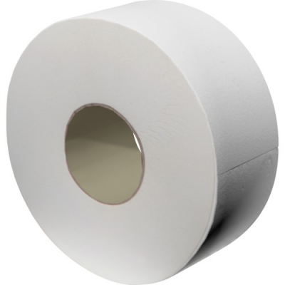 Solaris 23724 Livi Jumbo Roll Toilet Paper, 2 Ply, 850', White - 12 / Case