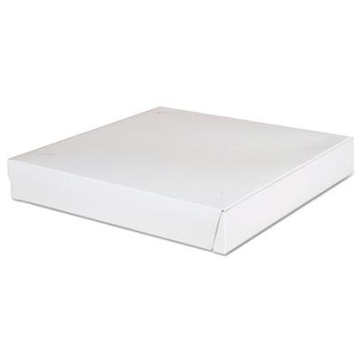 """Southern Champion 1460 Pizza Boxes, Lock Corner, 12"""" x 12"""" x 1-7/8"""", White - 100 / Case"""