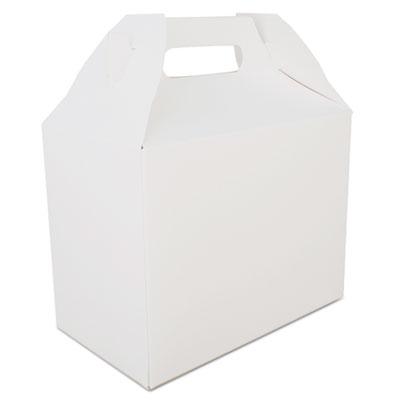 """Southern Champion 2709 Carryout Barn Boxes, 8-7/8"""" x 5"""" x 6-3/4"""", White - 150 / Case"""