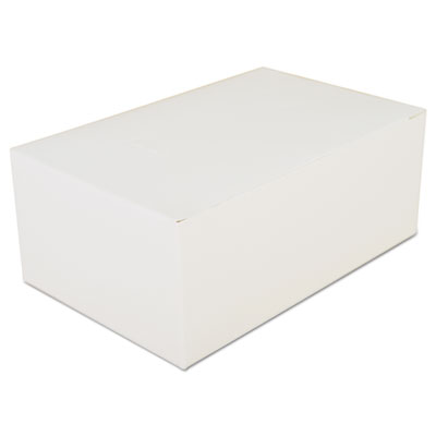 """Southern Champion 2717 Paper Carryout Boxes, Tuck Top, 7"""" x 4.5"""" x 2.75"""", White - 500 / Case"""