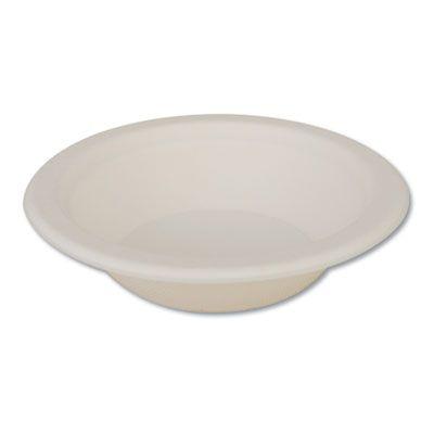 Southern Champion Tray 18750 ChampWare 12 oz Bagasse Bowls, White - 1000 / Case