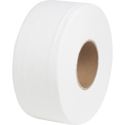 "Special Buy JRT Jumbo Roll 2 Ply Toilet Paper, 3-1/2"" x 650' - 12 / Case"
