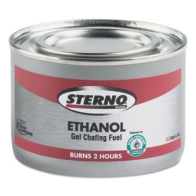 Sterno 20108 Ethanol Gel Chafing Fuel Can, 182.4G - 72 / Case
