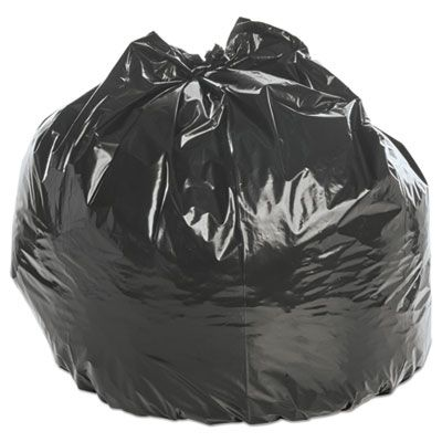 "Stout P4045K20 45 Gallon Insect Repellent Trash Bags, 2 Mil, 33"" x 45"", Black - 65 / Case"