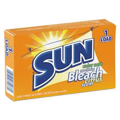 Sun Products 2979697 Color Safe Powder Bleach, 1.8 oz Vend Box for 1 Load - 100 / Case
