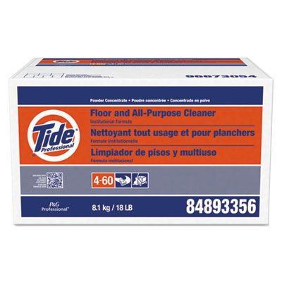 P&G 2363 Tide Professional Floor and All-Purpose Cleaner, Powder Concentrate, 18 lb Box - 1 / Case