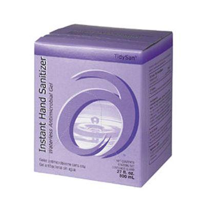 Advantage Soap A7808 TidySan 62% Alcohol Hand Sanitizer Refill, 800 ml Bag - 12 / Case
