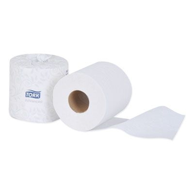 "Essity TM6130S Tork Advanced Toilet Paper, 2 Ply, 4"" x 3.75"", 500 Sheets / Roll - 48 / Case"