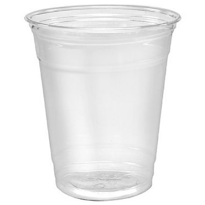 Solo TP12 Ultra Clear 12 oz Squat Plastic Cold Cups - 1000 / Case