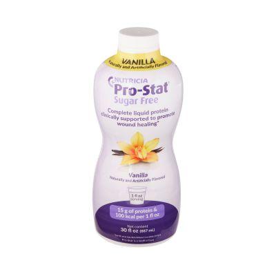 Nutricia 78350 Pro-Stat Sugar-Free Protein Supplement, Vanilla Flavor, 30 oz Bottle - 6 / Case