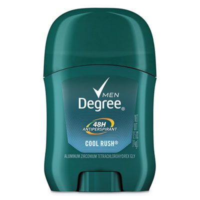 Unilever 15229 Degree Men Dry Protection Anti-Perspirant Deodorant, Cool Rush Scent, 0.5 oz Stick - 36 / Case