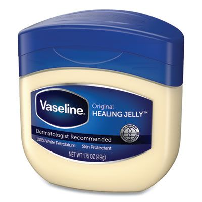 Unilever 31100 Vaseline Jelly, Original, 1.75 oz Jar - 144 / Case