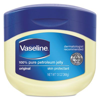 Unilever 34500 Vaseline Jelly, Original, 13 oz Jar - 24 / Case
