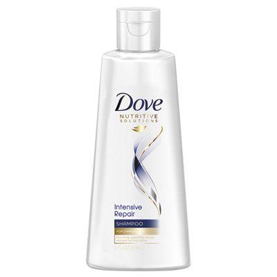 Unilever 6963 Dove Intensive Repair Shampoo, Light Scent, 3 oz Bottle - 24 / Case