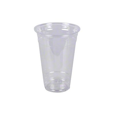 Vintage V1640CC-20 20 oz Plastic Cold Cups, PET, Clear - 1000 / Case