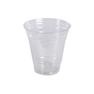 Vintage V1640CC-12 12 oz Squat Plastic Cold Cups, PET, Clear - 1000 / Case