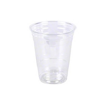 Vintage V1640CC-12T 12 oz Tall Plastic Cold Cups, PET, Clear - 1000 / Case