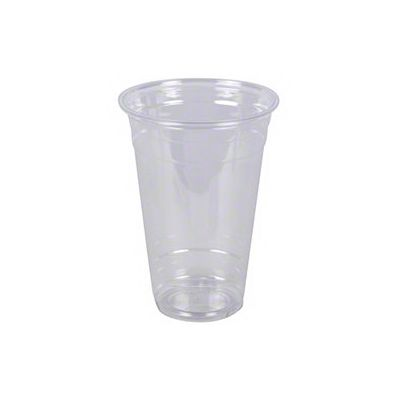 Vintage V1640CC-32 32 oz Plastic Cold Cups, PET, Clear - 300 / Case