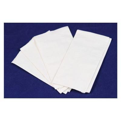 Vintage DNAP12250 Paper Dinner Napkins, 1 Ply, 1/8 Fold, White - 3000 / Case