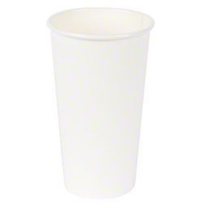 Vintage V1620HC-20W 20 oz Paper Hot Cups, White - 1000 / Case