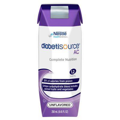 Nestle Healthcare Nutrition 10043900365005 Diabetisource AC Tube Feeding Formula, Adult, Unflavored, 8.45 oz Carton - 24 / Case
