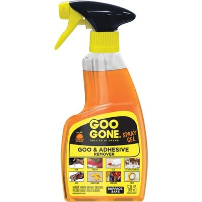 Weiman Products 2096 Goo Gone Spray Gel, 12 oz Bottle, Orange - 6 / Case