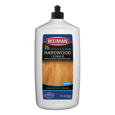 Weiman 522 Hardwood Floor Cleaner, 32 oz Squeeze Bottle - 6 / Case