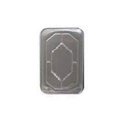 Western Plastics 5000 Foil Lid for Western Plastics Full Size Aluminum Foil Steam Table Pans, Silver - 50 / Case