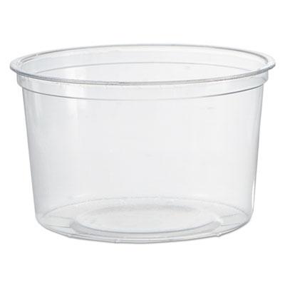 WNA APCTR16 16 oz Deli Containers, Plastic, Clear - 500 / Case
