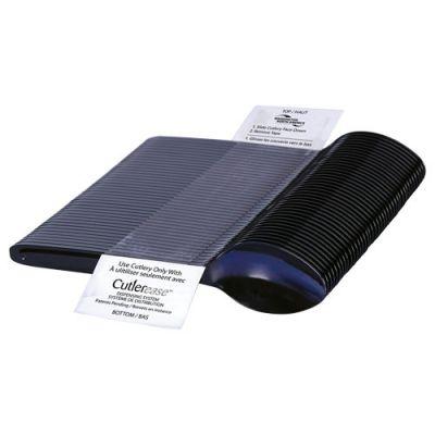WNA CEASESP960BL Cutlerease Dispenser Plastic Spoon Refill Pack, Polystyrene, Black - 960 / Case