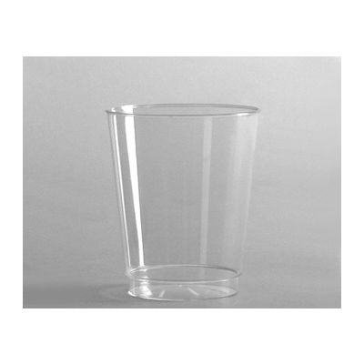 WNA T7T 7 oz Tall Comet Tumbler, Rigid Plastic, Clear - 500 / Case