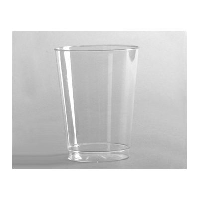 WNA T8T 8 oz Tall Cometware Tumbler, Rigid Plastic, Clear - 500 / Case