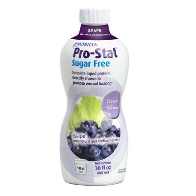 Nutricia 78385 Pro-Stat Sugar-Free Protein Supplement, Grape Flavor, 30 oz Bottle - 6 / Case