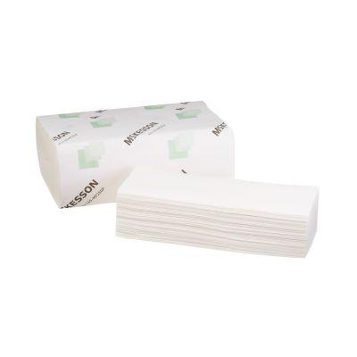 "McKesson 165-MF250P Premium Multi-Fold Paper Towels, 9"" x 9-9/20"", White - 4000 / Case"