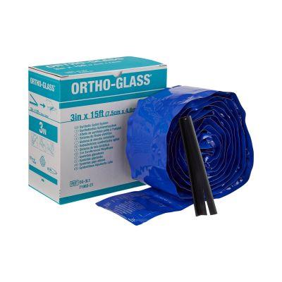 """BSN Medical OG-3L2 ORTHO-GLASS Padded Splint Roll, 3"""" x 15', Fiberglass, White - 2 / Case"""