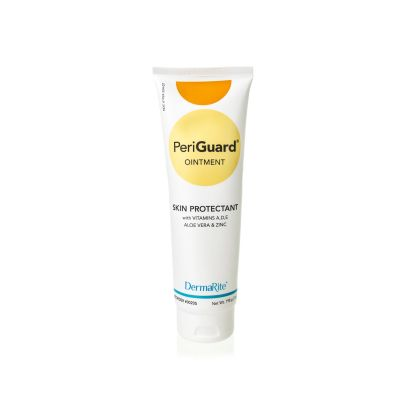 DermaRite Industries 00205 PeriGuard Ointment, Antimicrobial Skin Protectant, Scented, 7 oz Tube - 48 / Case