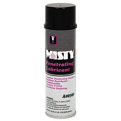 Zep 1002456 Misty Penetrating Lubricant Spray, 19 oz - 12 / Case