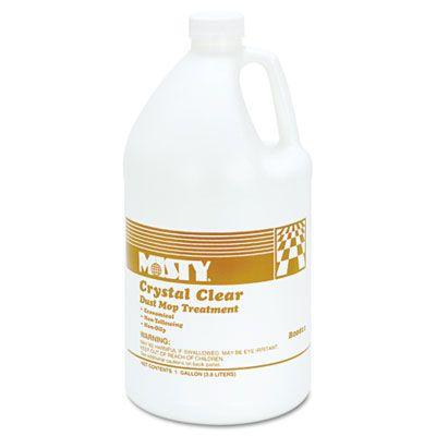 Zep 1003411 Misty Crystal Clear Dust Mop Treatment, Grapefruit Scent, 1 Gallon - 4 / Case