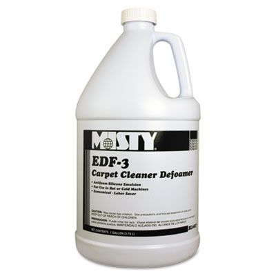 Zep 1038773 Misty EDF-3 Carpet Cleaner Defoamer, 1 Gallon - 4 / Case