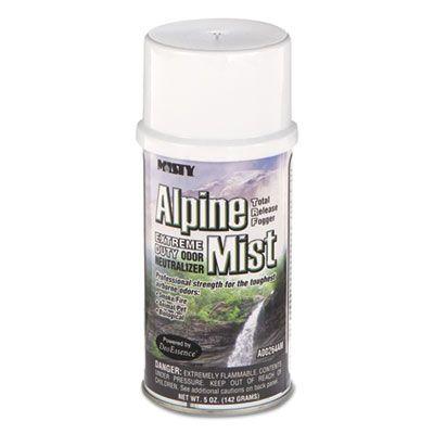 Amrep 1039402 Misty Alpine Extreme Odor Neutralizer Mist, 5 oz Can - 12 / Case