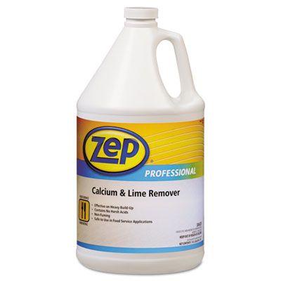 Zep 1041491 Calcium & Lime Remover, Neutral, 1 Gallon - 4 / Case
