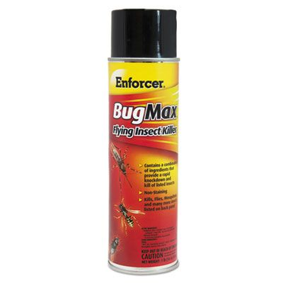 Zep EBMFIK16 Enforcer Bug Max Flying Insect Killer, 16 oz - 12 / Case